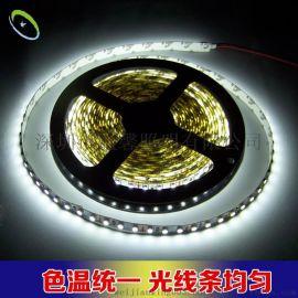 厂家直销LED 3528贴片灯条 12/24V灯箱广告招牌柔性软灯带 高亮