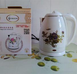 供应ZY-106吉之雅1.8升变色水壶批发价格 地摊礼品变色电水壶