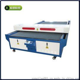 真皮激光切割机 人造皮切割机厂家  皮革下料机