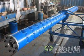 东北供暖热水潜水泵现货(地热井用铸铁热水抽水机)