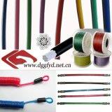 供應啞面塗塑包膠鋼絲繩