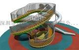 海南、珠海、山東、河北、江西商場不鏽鋼滑梯,戶外拓展系列