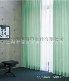 厂家直销 绿色环保遮光医用窗帘布、压花窗帘   布艺窗帘阻燃