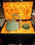 陕西耀州瓷良心壶俩心壶酒具公道杯瓷器西安外事商务礼品