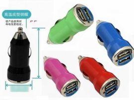 5v3.1a 双USB车充 同时苹果ipad跟手机充电 无线车载充电器