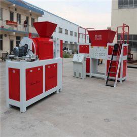 塑料薄膜擠幹塑化一體機、編織袋擠幹機、噸包袋撕碎擠幹機