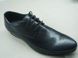 罗马复古式头层牛皮真皮男士皮鞋(PJ010637)