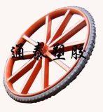 650-16力车焊圈实心胎
