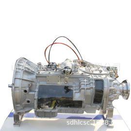 陕汽德龙车型配件 德龙X6000变速箱总成陕汽德龙变速箱壳子图片
