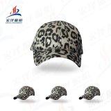 帽子女士秋冬新款字母刺绣棒球帽韩版户外时尚百搭豹纹鸭舌帽