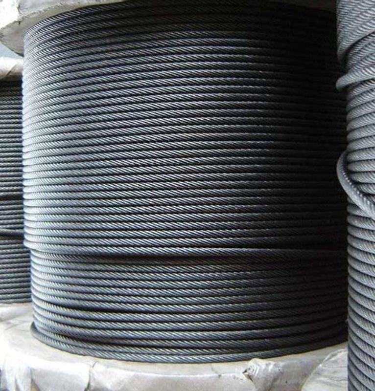 電梯鋼絲繩 8*19S+NF-10mm 電梯曳引鋼絲繩  進口劍麻芯