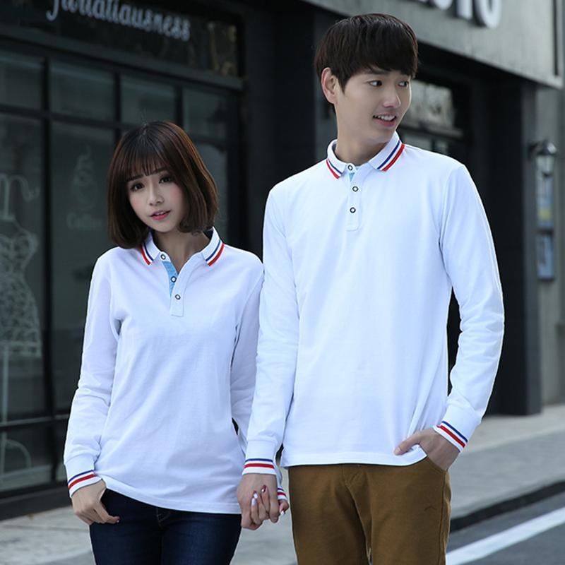 T恤衫长袖工装厂服工作服定做l纯棉长袖t恤工作服