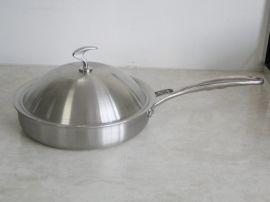 铂琅德26cm复合不锈钢煎锅BRD002