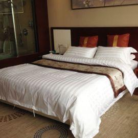 宾馆床上用品批发酒店床上用品宾馆被套优质加密全棉被套工厂直销
