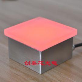 LED发光砖_广场地面LED发光砖