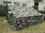 猛士车边迷彩帐篷