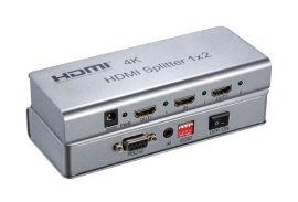 索飞翔高清4K 1x2 4K HDMI分配器一件代发