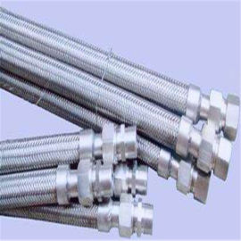 衬四氟金属软管/加工金属软管/欢迎选购