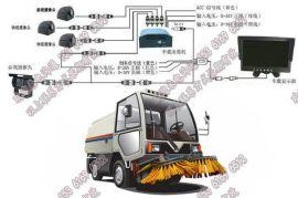 环卫车4G动态视频监控|垃圾车无线监控|洒水车远程定位监控