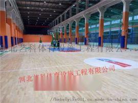 体育场馆篮球馆运动木地板施工工艺