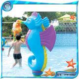 JT水上乐园设施儿童戏水设备 戏水小品小苹果淋水屋