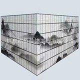 人物三水畫造型排孔鋁單板 UV列印彩繪鋁單定製