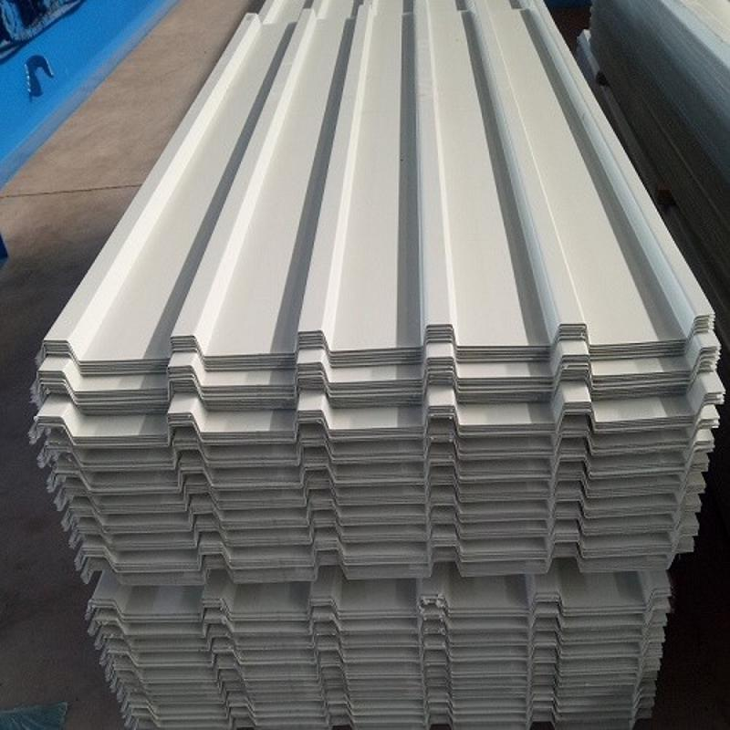 山東供應YX28-150-750型單板 0.3mm-1.2mm厚 彩鋼壓型板/鋼結構牆板/廠房豎排板 750型電廠外牆板