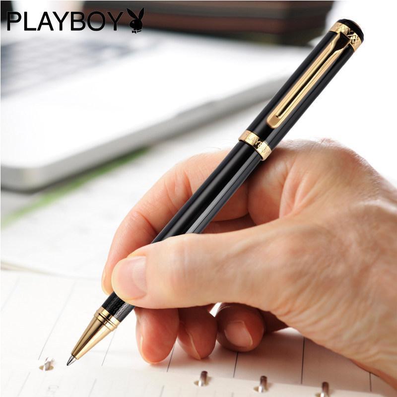**钢笔善思男女士金属签字笔墨水笔商务礼办公品笔定制刻字