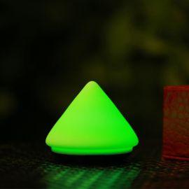 同源达T11火山硅胶充电拍拍小夜灯
