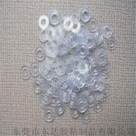 PET耐高温透明介子垫片 PVC螺丝孔绝缘塑胶平垫圈 绝缘透明介子片