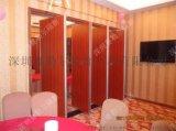 廣東深圳飯店餐廳摺疊移動隔斷牆直銷
