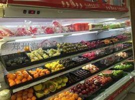 郑州节能风幕柜哪里有卖的,水果蔬菜风幕柜上门安装