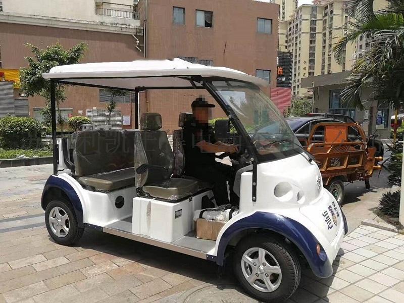 利凯士得8座敞开式电动观光车,社区四轮电动巡逻车价格