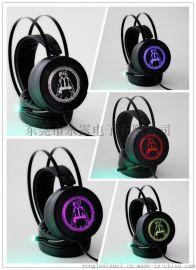 供应台盾耳机V8S 游戏电脑电竟头戴式发光耳机