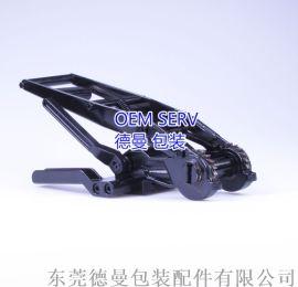 厂家直销德国棘轮重型拉紧器纤维打包带打包机收紧器