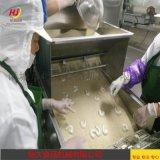 鸡排上浆裹粉流水线 鸡排加工速冻前处理设备
