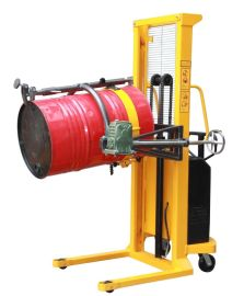 敬華物流設備半電動油桶車帶稱重YL520A-1