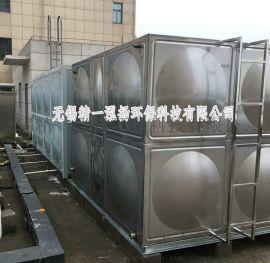 无锡厂价直供一款140吨规格304不锈钢异形水箱