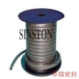 棉纖維+茵苛鎳絲增強石墨編織盤根
