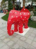 泰国神象雕塑玻璃钢仿真大象雕塑
