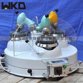 长期供应玛瑙研磨机 XPM120*3三头研磨机原理