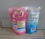 厂家【直销定做】洗衣液吸嘴自立袋 斜嘴自立洗衣液吸嘴袋 量大优惠