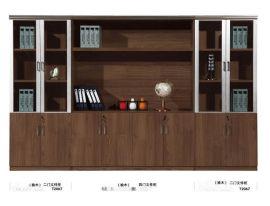 带玻璃门书柜书架**组合板式特价书橱定制柜子置物架储物柜