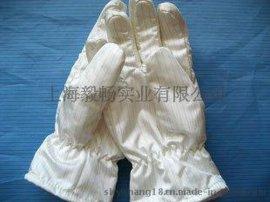 300度无尘耐高温手套白色无尘隔热温手套防静电耐高温手套