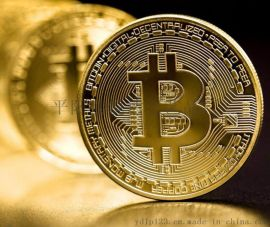 ***比特虚拟币收藏纪念币外销金币赠送纪念章礼品