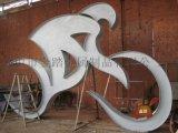 公园不锈钢运动雕塑摆件