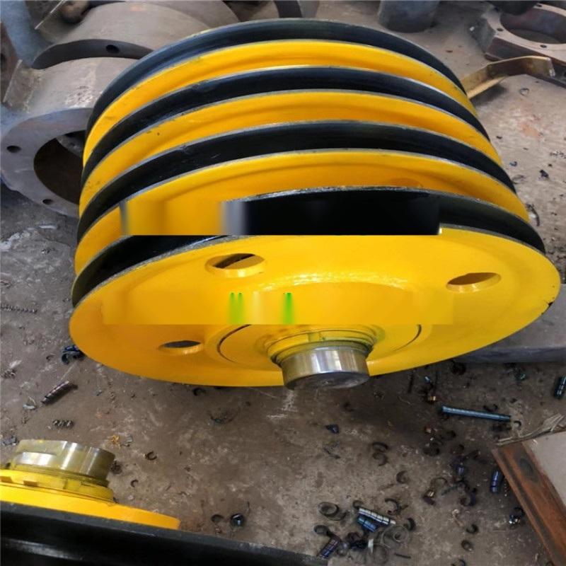 全国热销行车滑轮片 10吨铸钢轧制滑轮片天车吊钩