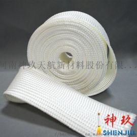 耐高温绝缘石英纤维套管厂家直销,低介电绝缘阻燃套管