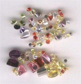 立方氧化锆(cz锆石),玻璃石,尖晶等人造宝石(人造钻石)