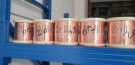 南铜批发轴装T2紫铜线/国标导电TU2无氧铜线